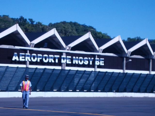 Aéroport de Nosy Be, Madagascar