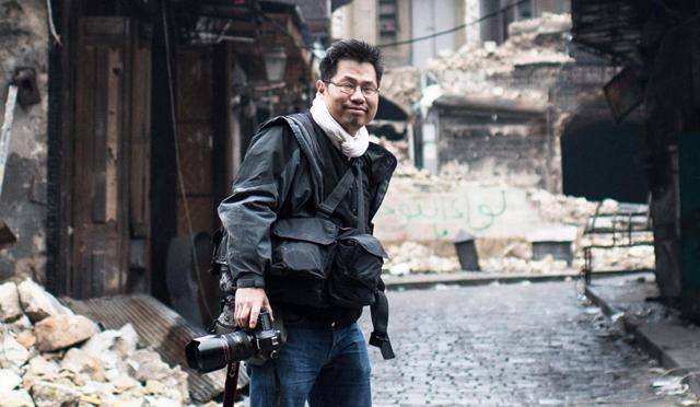 Olivier Voisin, photographe de guerre