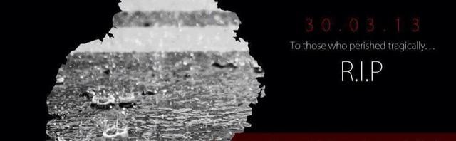 Hommage aux victimes des inondations du 30 mars 2013