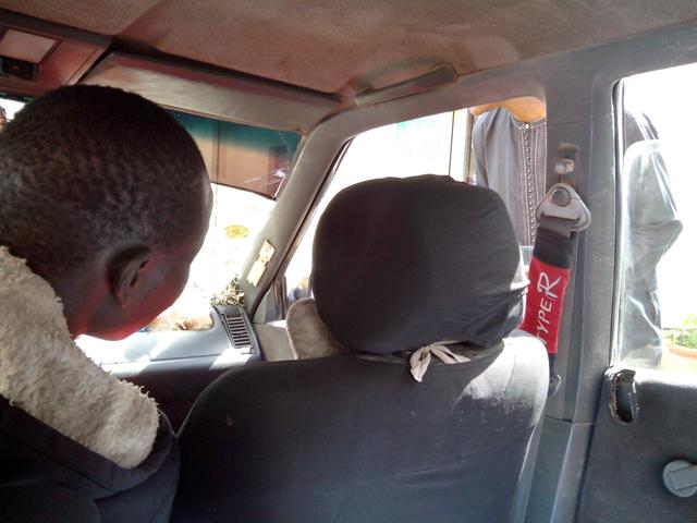 Ibrahima, taxi dakarois au Sénégal
