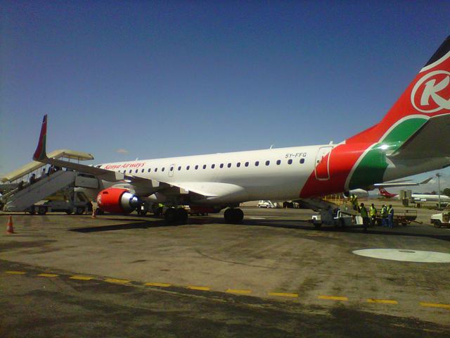Kenya Airways à Ivato