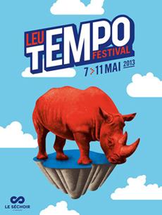 Affiche du Leu Tempo festival 2013