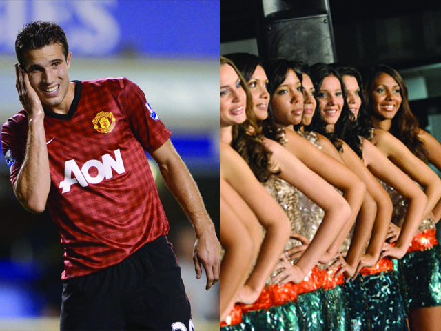 Miss Réunion vs Robin Van Persie