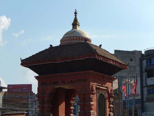 Lalitpur est une ville de la vallée de Katmandou, séparée de la capitale népalaise par la rivière Bagmati (Crédit : SH)