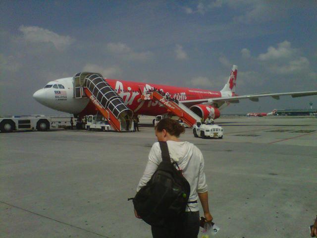 Tarmac de l'aéroport Low Cost Carrier Terminal (LCCT), Kuala Lumpur, Malaisie
