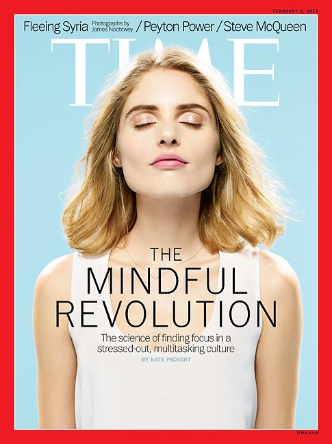 """Pour son édition du 3 février 2013, le """"Time"""" consacre sa couverture à la révolution de la pleine conscience"""