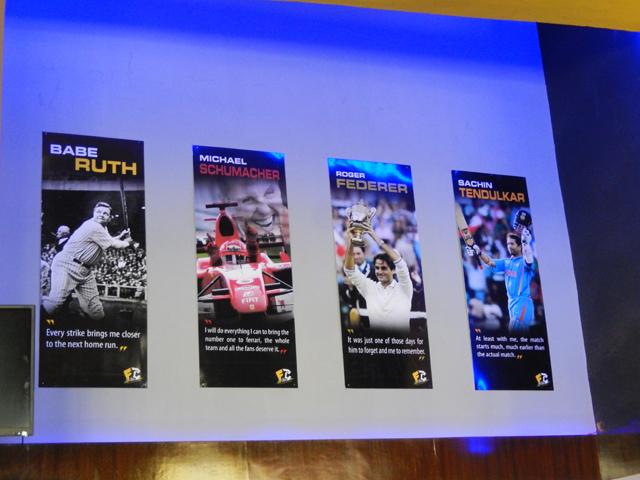 Sachin Tendulkar placé au même rang que Federer et Schumarer au FC - The Sports Bar © S.H