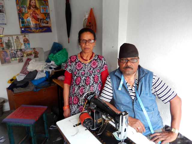 Baghat, mon tailleur, et Amika © S.H