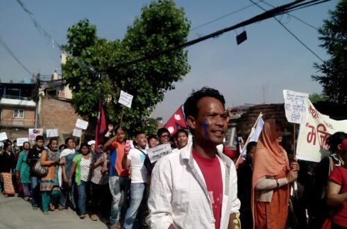 Article : Katmandou : Pâques métissée