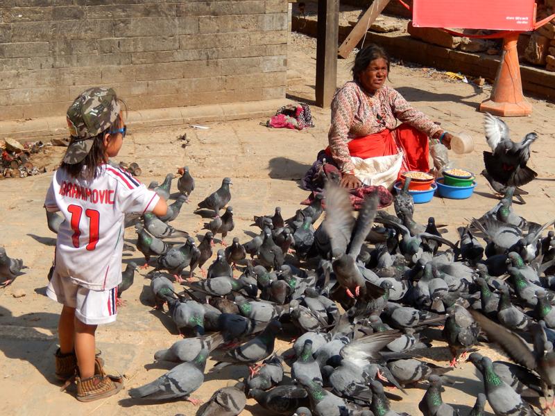 23 mai, Kathmandu Durbar Square : tout n'est pas perdu © O.B