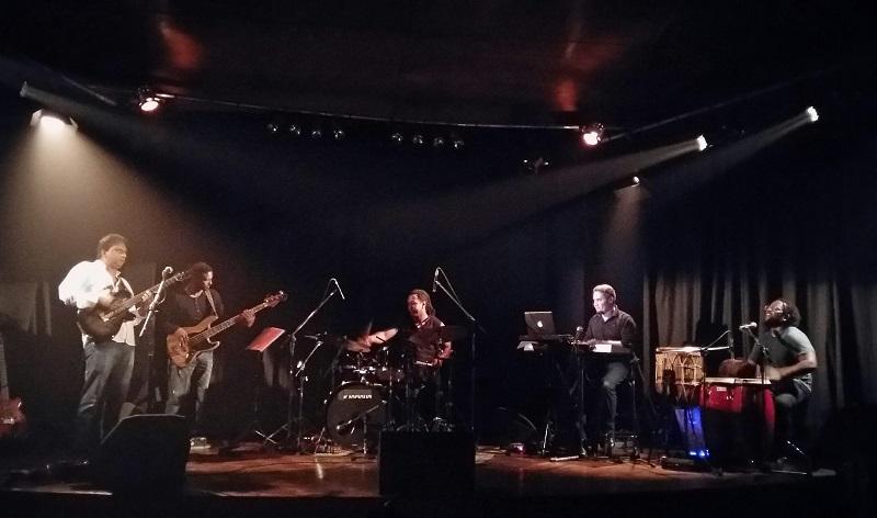 29 avril 2016 - Neshen Teeroovengadum Kintet au Conservatoire François Mitterrand lors du festival Mama Jaz