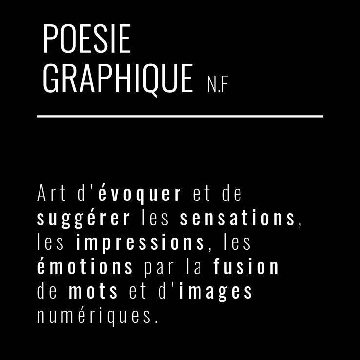 Poésie graphique, projet d'une poète et cinq graphistes mauriciens